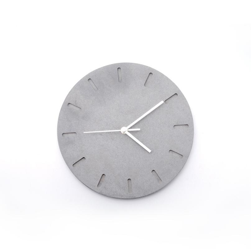 שעון קיר בטון